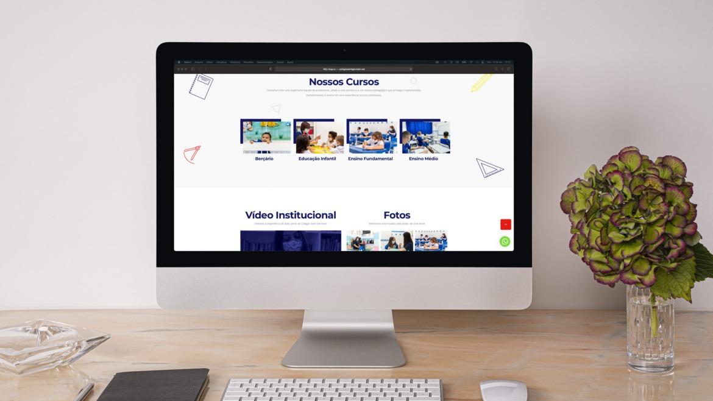 Criação De Website Para Escolas